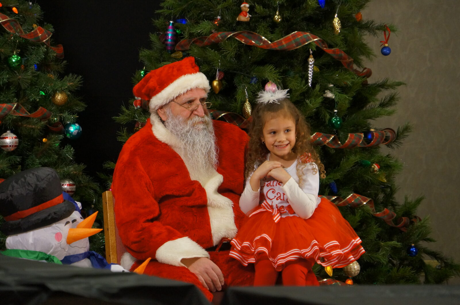 "Thanks to all who attended our ""Visit with Santa"""